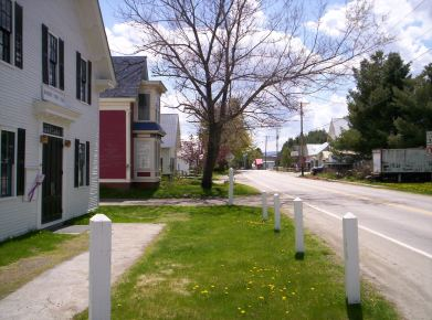 Main street, Roxbury VT. Photo Vermont365.